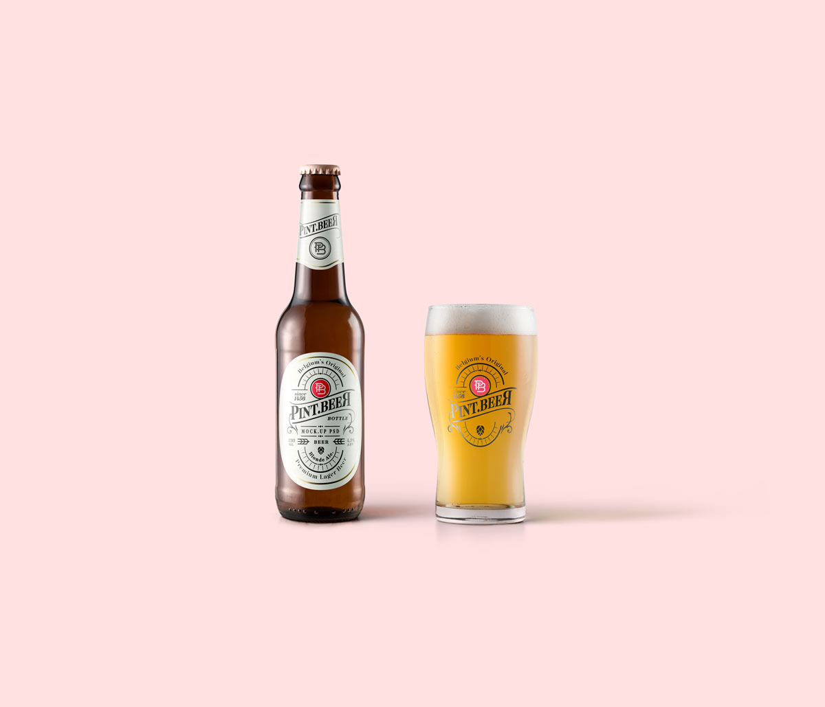 Blonde-Beer-Amber-Bottle-Mockup